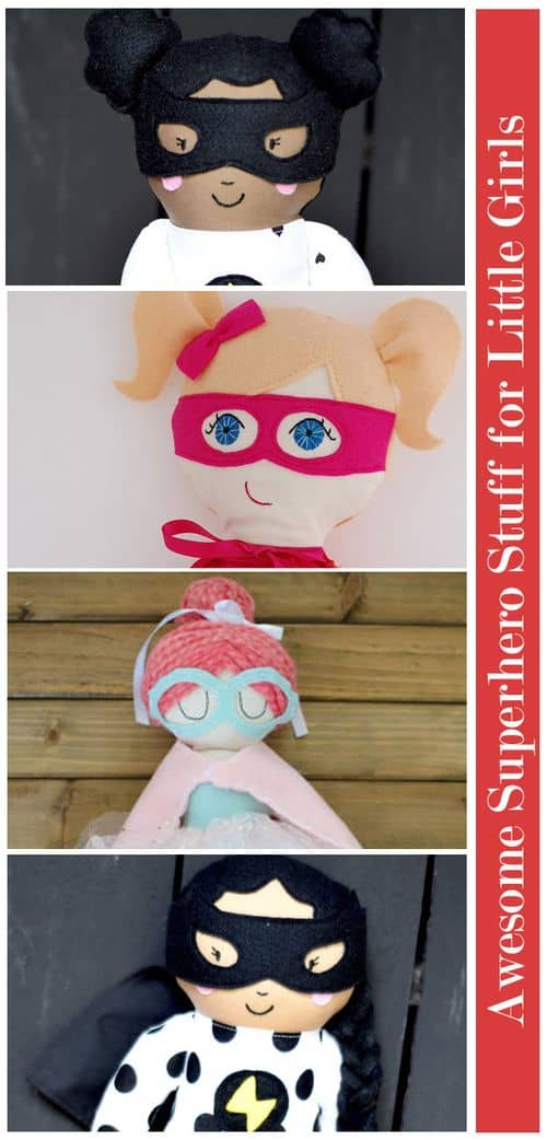 Awesome Superhero Stuff for Little Girls: Dolls #GirlsLoveSuperheroesToo