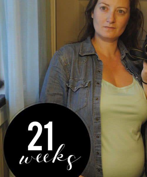 Me At 21 Weeks