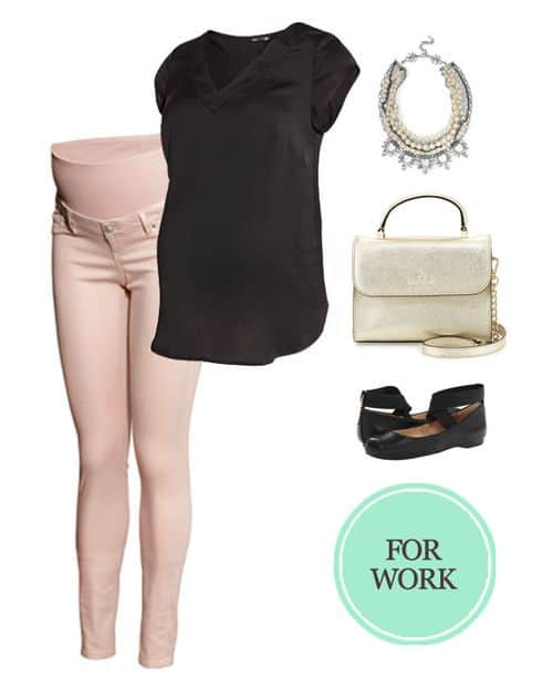 My Favorite Maternity Outfits for the Second Trimester: For Work #pregnancy #baby #maternity #ootd