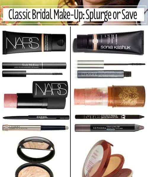 Classic Bridal Make-Up: Splurge or Save
