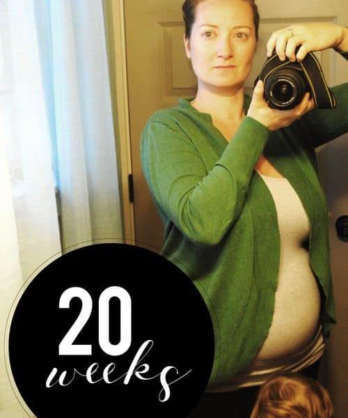 Me At 20 Weeks