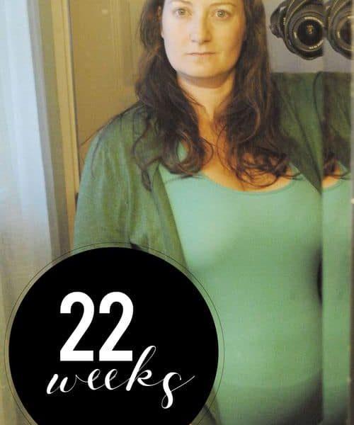 Me At 22 Weeks