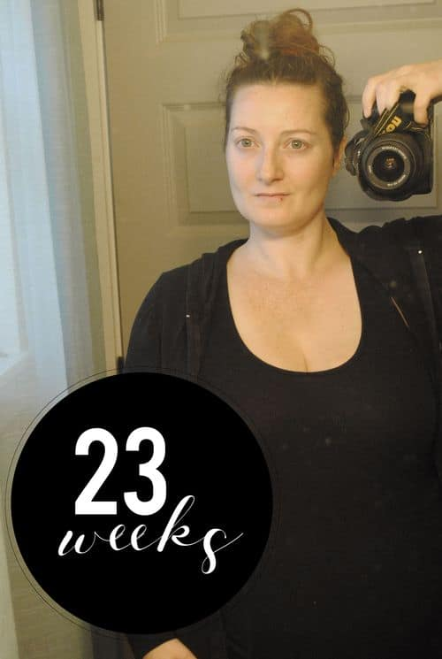 San Antonio lifestyle blogger, Cris Stone, shares a rundown of her 23rd week of pregnancy. Find out more!