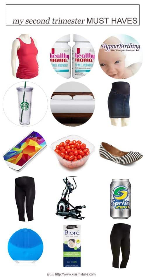 My Second Trimester Must Haves #pregnancy #baby #secondtrimester #musthaves #mommy