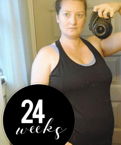 Me At 24 Weeks