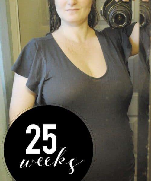 Me At 25 Weeks