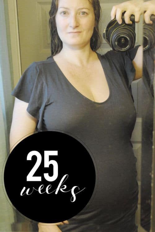 San Antonio lifestyle blogger, Cris Stone, shares a rundown of her 25th week of pregnancy. Find out more!