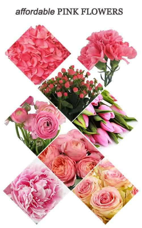 Affordable Pink Flowers for Your Wedding #budget #budgetwedding #wedding #pink #flowers