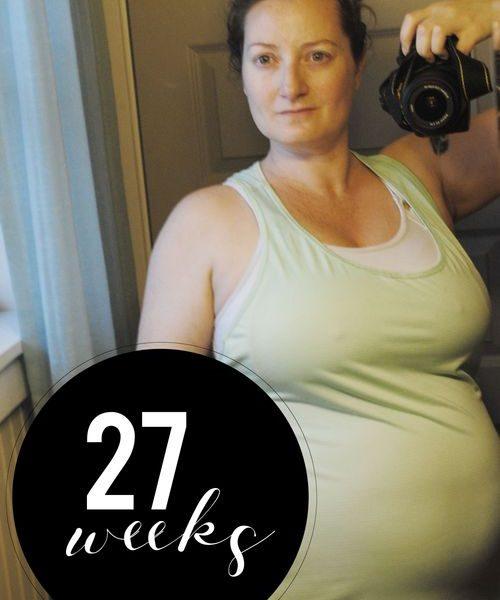 Me At 27 Weeks