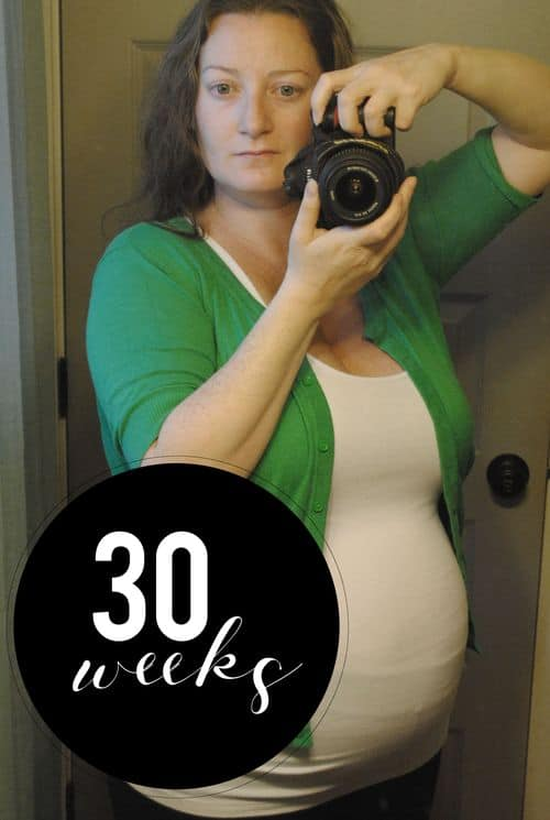 San Antonio lifestyle blogger, Cris Stone, shares a rundown of her 30th week of pregnancy. Find out more!
