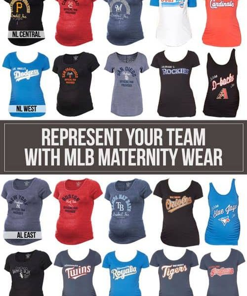 Represent Your Team With MLB Maternity Wear