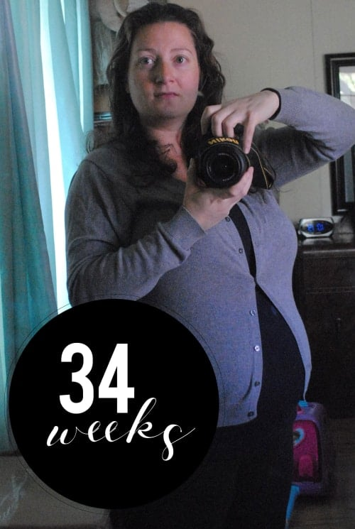 San Antonio lifestyle blogger, Cris Stone, shares a rundown of her 34th week of pregnancy. Find out more!