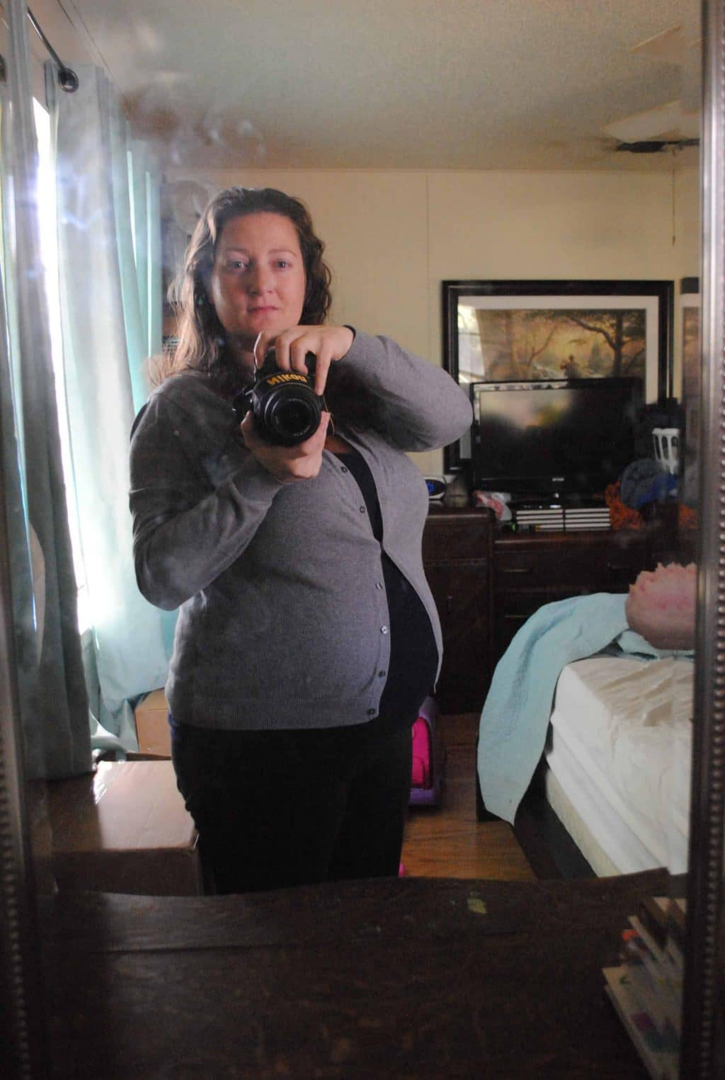 Me At 34 Weeks #expecting #baby #pregnancy #thirdtrimester