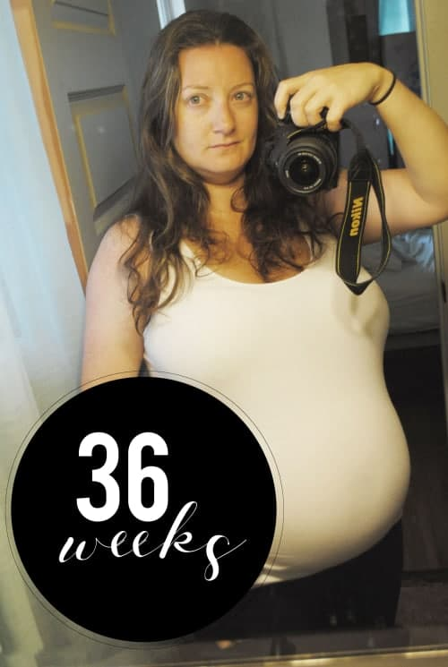 San Antonio lifestyle blogger, Cris Stone, shares a rundown of her 36th week of pregnancy. Find out more!