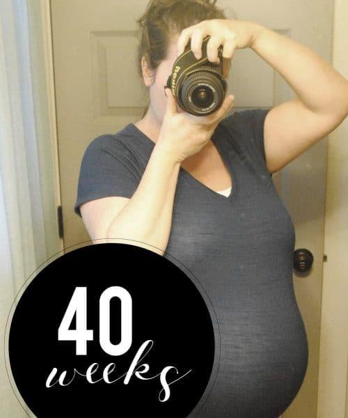 Me At 40 Weeks