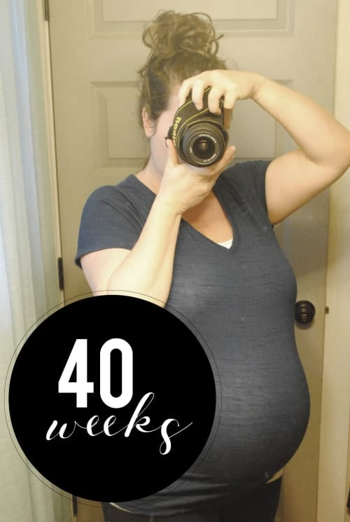 San Antonio lifestyle blogger, Cris Stone, shares a rundown of her 40th week of pregnancy. Find out more!