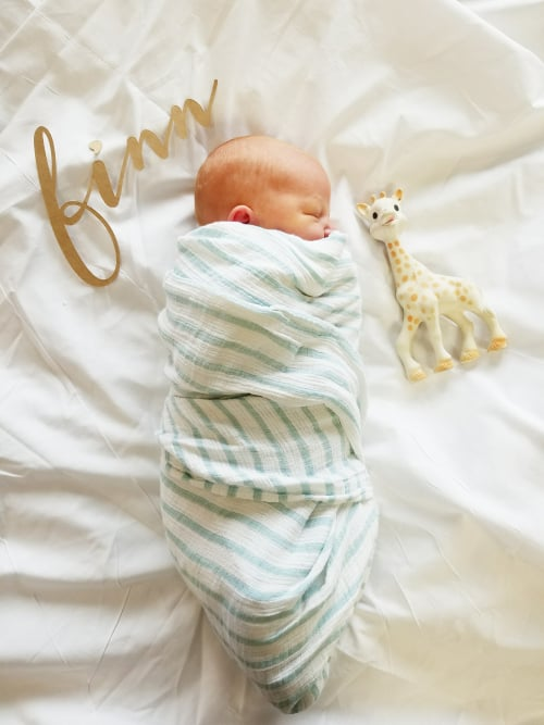 Welcome To The World, James Finnegan!