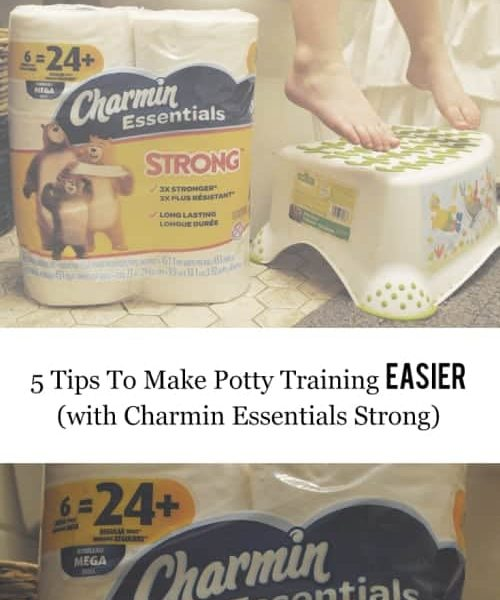 My Top 5 Tips To Make Potty Training Easier (with Charmin Essentials Strong)