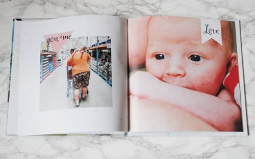 Getting Baby Ready With Mixbook #gallerywall #babyphotography #memories