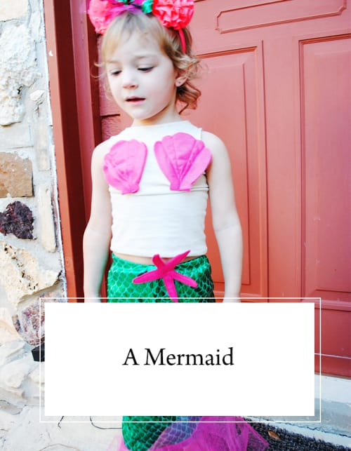 Melanie's 2016 Halloween Costume: A Mermaid