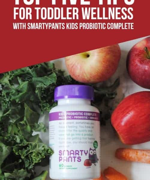 My Top Five Tips For Toddler Wellness With SmartyPants Kids Probiotic Complete