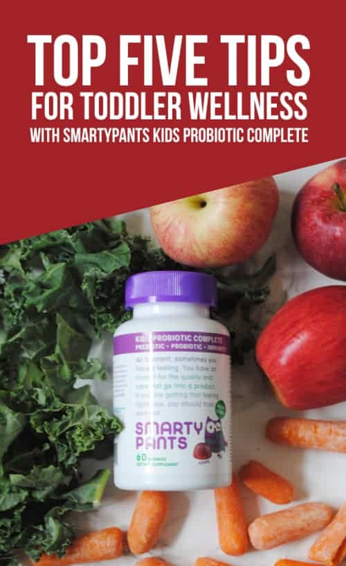 My Top Five Tips For Toddler Wellness With SmartyPants Kids Probiotic Complete #ad #YourKidHasGuts #vitamins #supplements #gummy vitamins #health #wellness #probiotics #prebiotics #wellmune #non-gmo #vegetarian