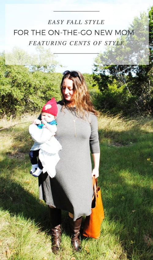 Easy Fall Style For The On-The-Go New Mom Featuring Cents Of Style