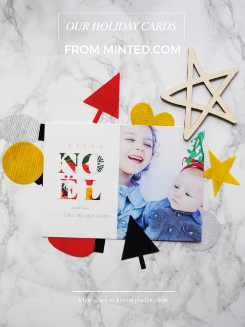 Our Colorful Holiday Cards From Minted #holiday #Christmas #Thanksgiving #NewYears #stationery