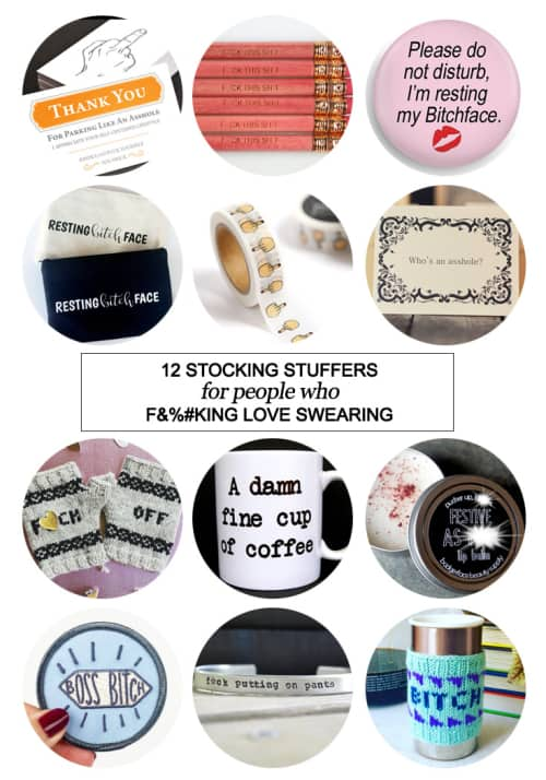 12 Stocking Stuffers for People Who F&%#king Love Swearing