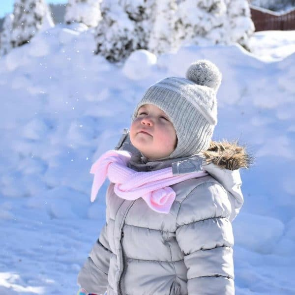 Winter Capsule Wardrobe for a Toddler Girl