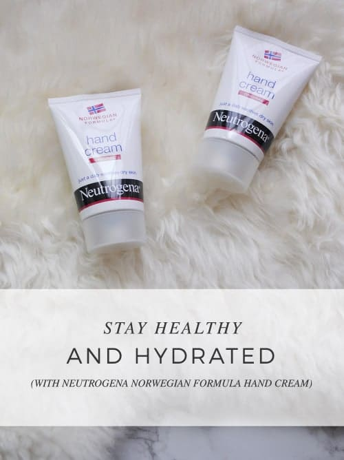 Stay Healthy And Hydrated With @Neutrogena® Norwegian Formula® Hand Cream #HandCream #IC #ad