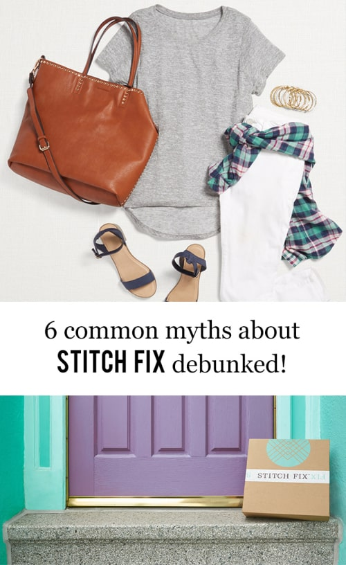 San Antonio lifestyle blogger, Cris Stone, debunks six common myths about Stitch Fix. Find out more!