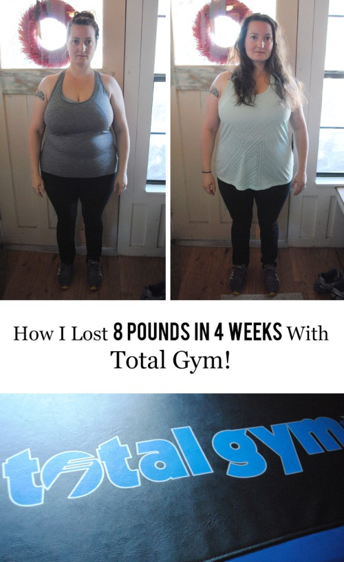 Alaskan lifestyle blogger, Cris Stone, shares how she lost 8 pounds in 4 weeks with Total Gym. Find out more!