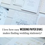 I Love How Easy Wedding Paper Divas Makes Finding Wedding Stationery!