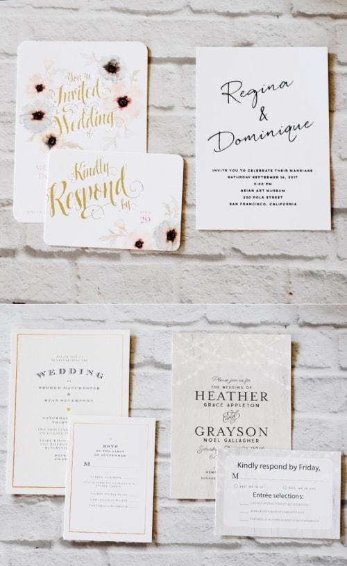 I Love How Easy Wedding Paper Divas Makes Finding Wedding Stationery! #ad #wedding #stationery #weddinginvitations #savethedate #RSVP