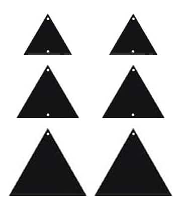 diy faux leather triangle earrings featuring cricut kiss clip art of houses free clip art of houses free