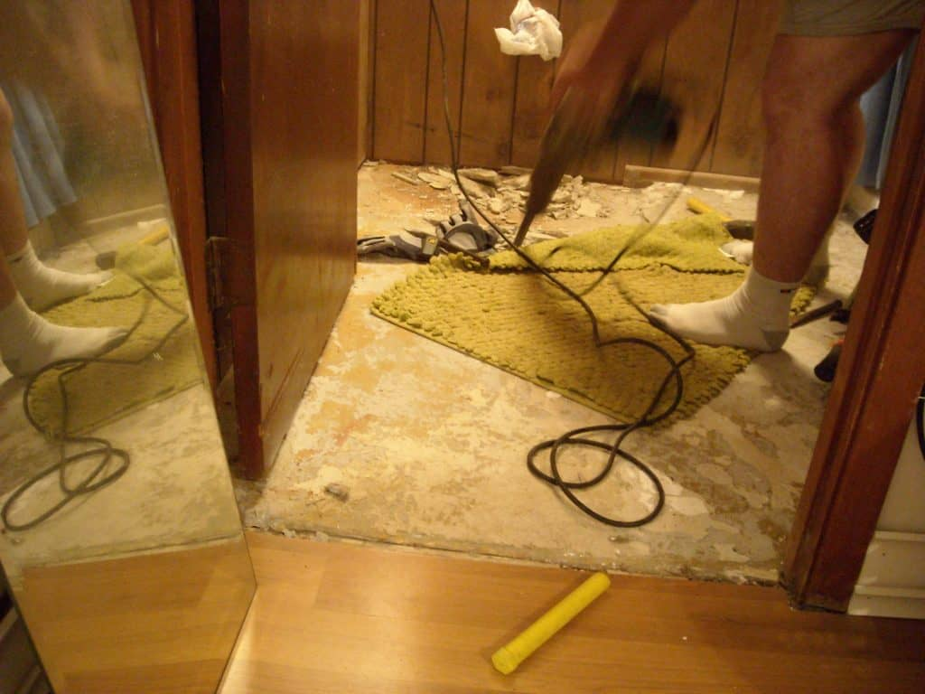 The Master Bathroom: It's Demo Day, Bitches