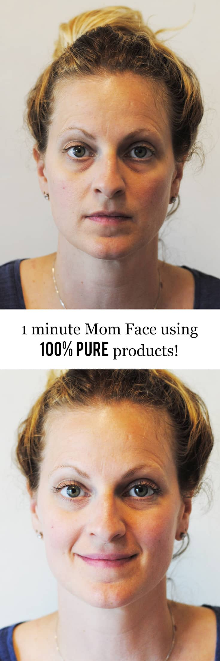 1 Minute Mom Face with 100% Pure