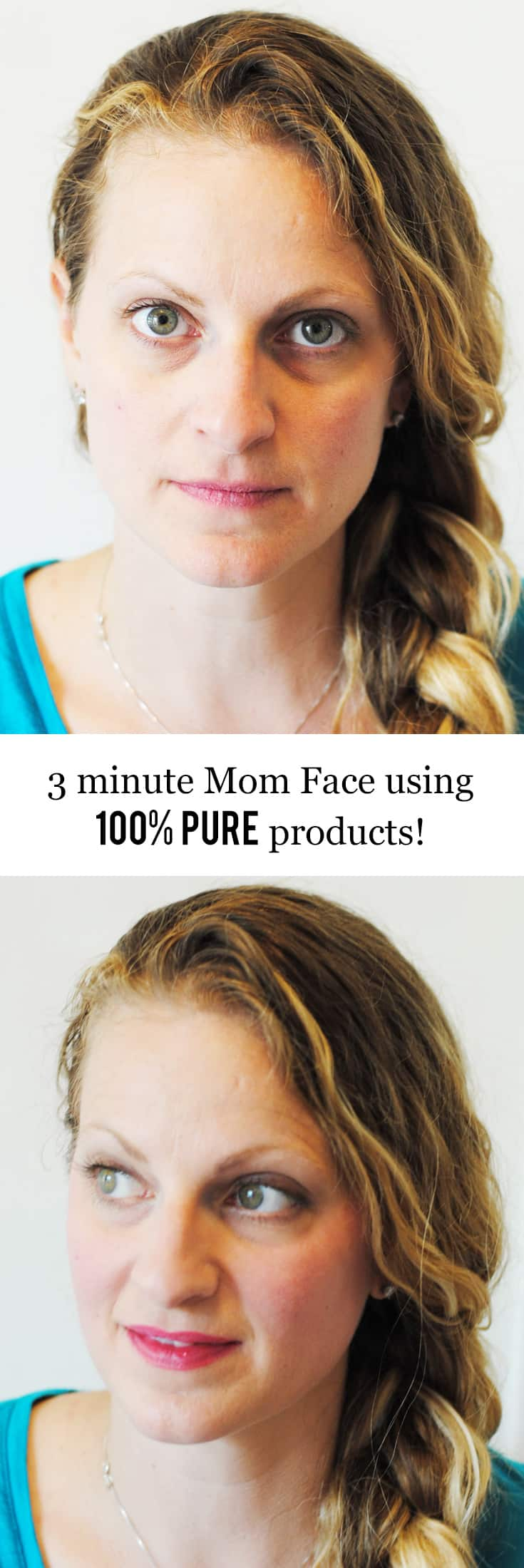 3 Minute Mom Face with 100% Pure