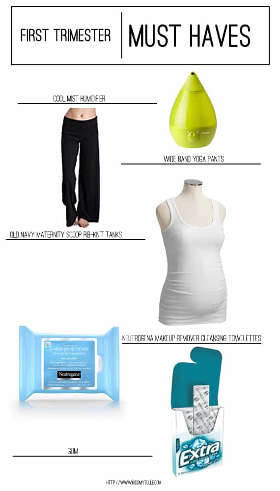 My First Trimester Must Haves Kiss My Tulle