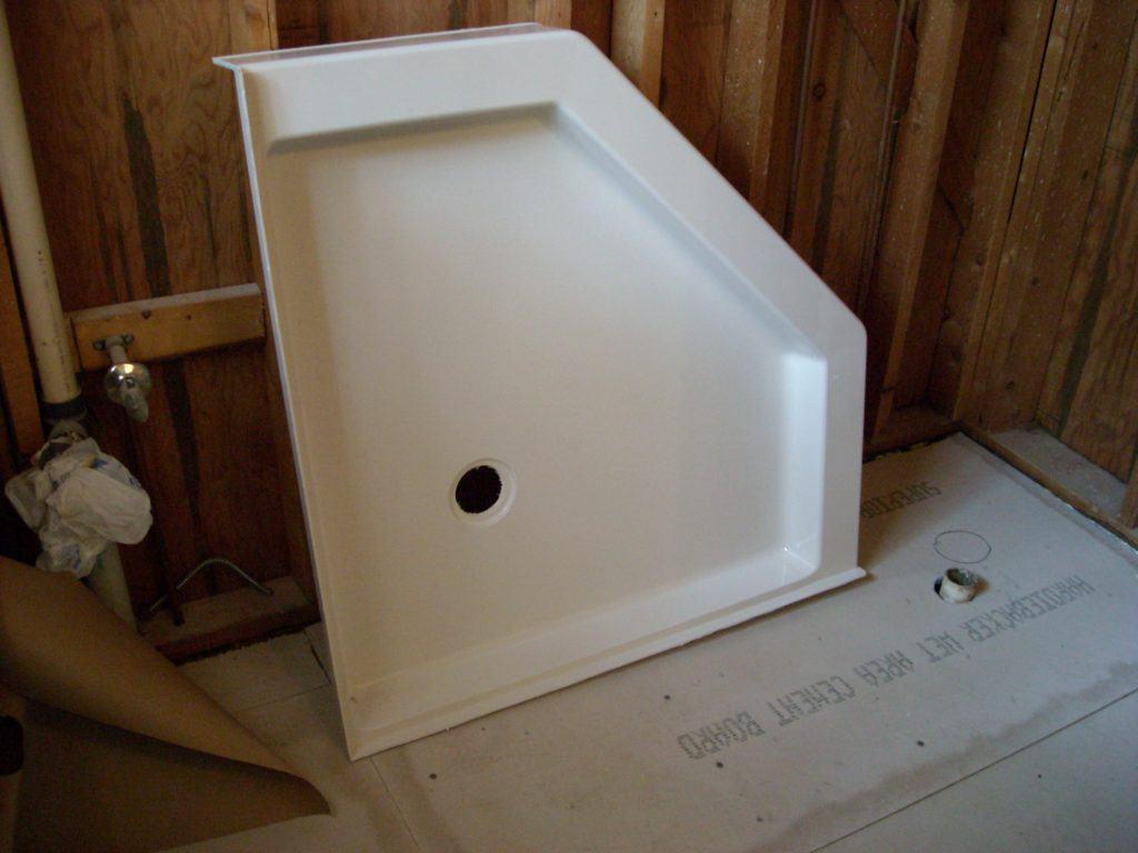 Master Bathroom: The Shower Stall