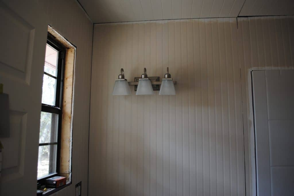 """Master Bathroom: And God Said, """"Let There Be Light"""" and The Boy Said, """"Eh. Why Not?"""""""