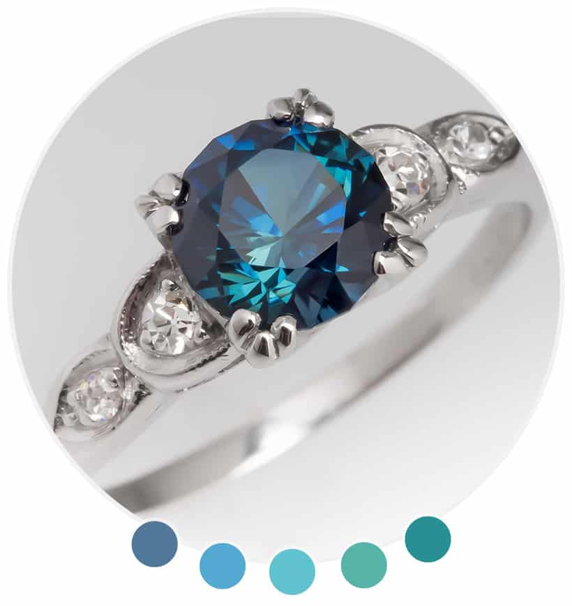 Colored Stones are the Perfect Alternative for Couples Looking for a Unique Engagement Ring #ad #EraGem @eragem