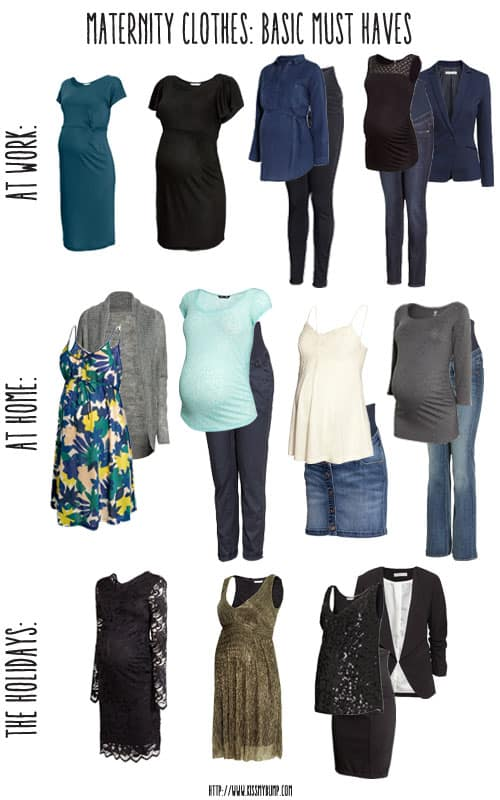 Maternity Clothes: Basic Must Haves