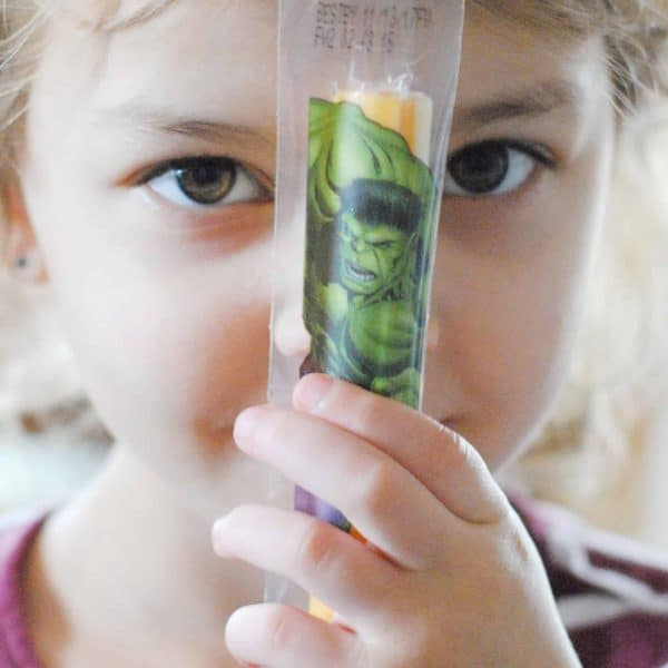 Getting Preschool Ready with Marvel Avengers String Cheese