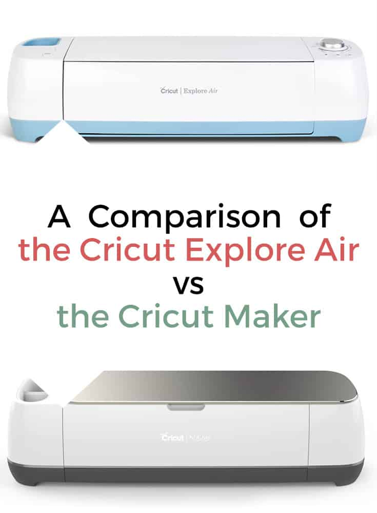 San Antonio lifestyle blogger, Cris Stone, clarifies questions about the cost, technology, and uses of both the Cricut Explore Air vs the Cricut Maker.