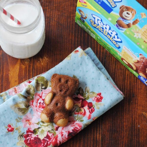 Afternoon Snack Time with Melanie and TEDDY SOFT BAKED Filled Snacks