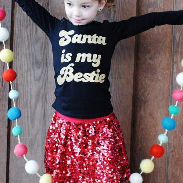 DIY Santa is my Bestie T-Shirt