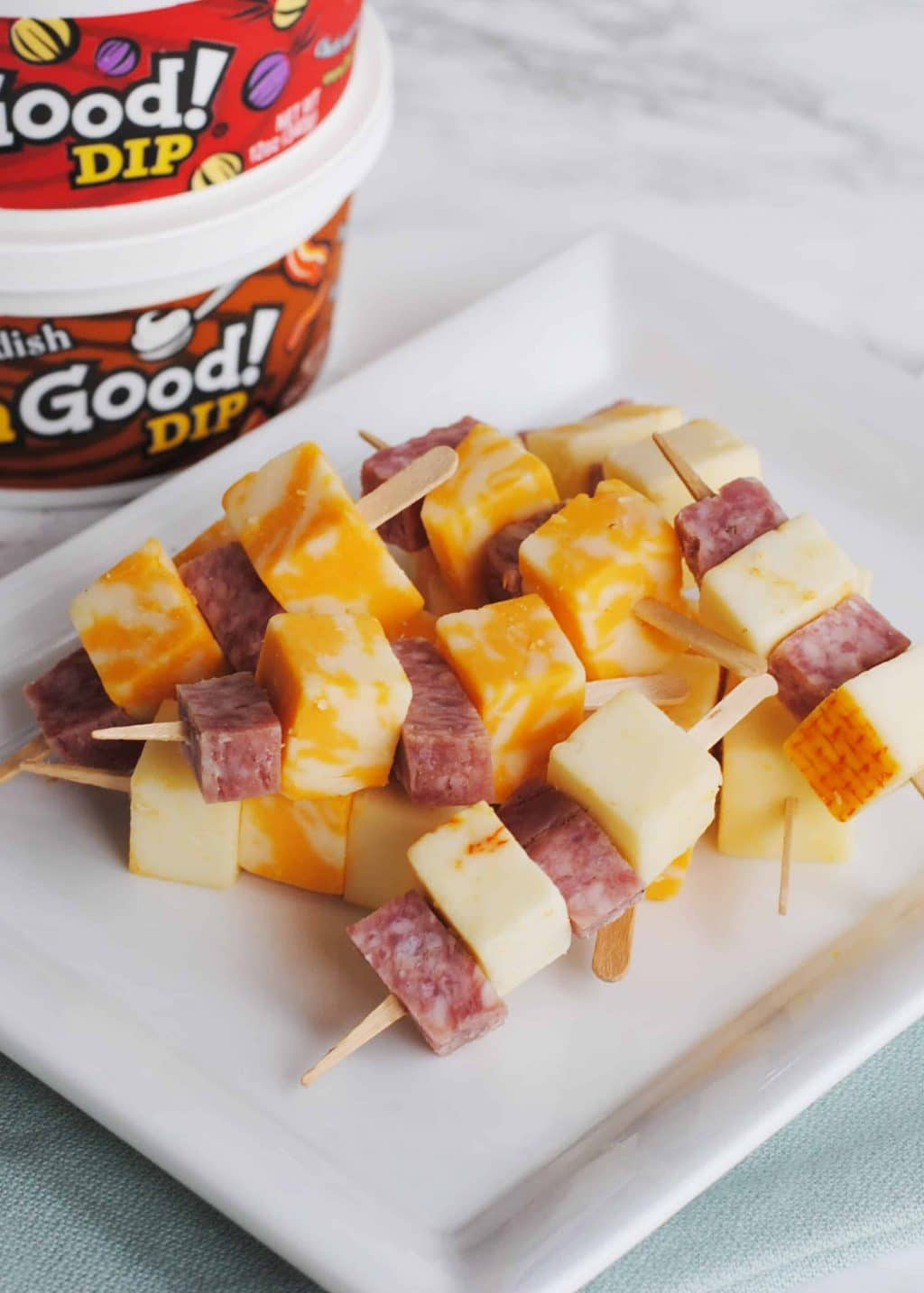 Tasty Salami and Cheese Dippers for Thanksgiving #ChipsDipsandTips #IC #ad
