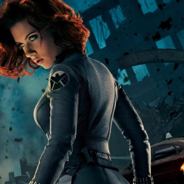 Marvel Mondays: Black Widow Bounding